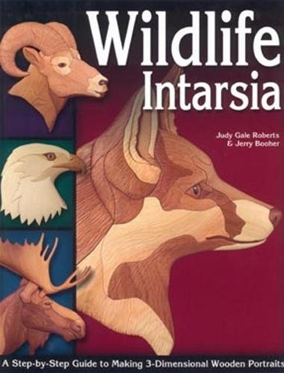 Fox Chapel Publishing Wildlife Intarsia Book