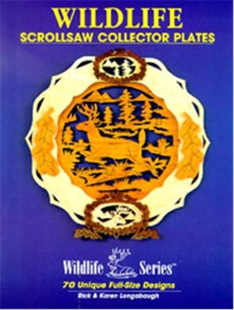 Wildlife Scrollsaw Collector Plates Book