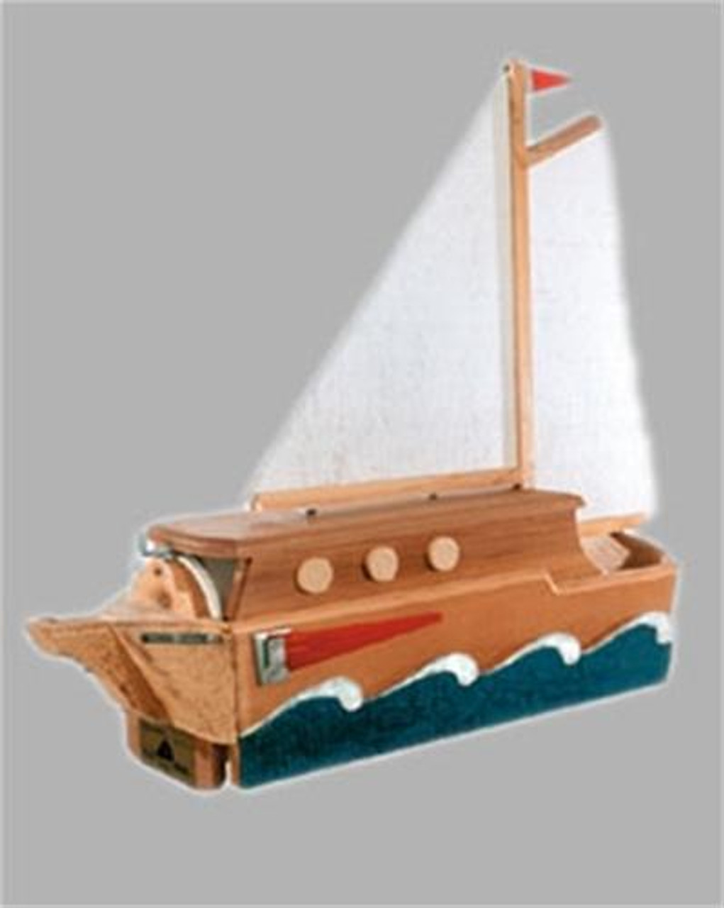 Cherry Tree Toys Sail Mail Woodworking Plan