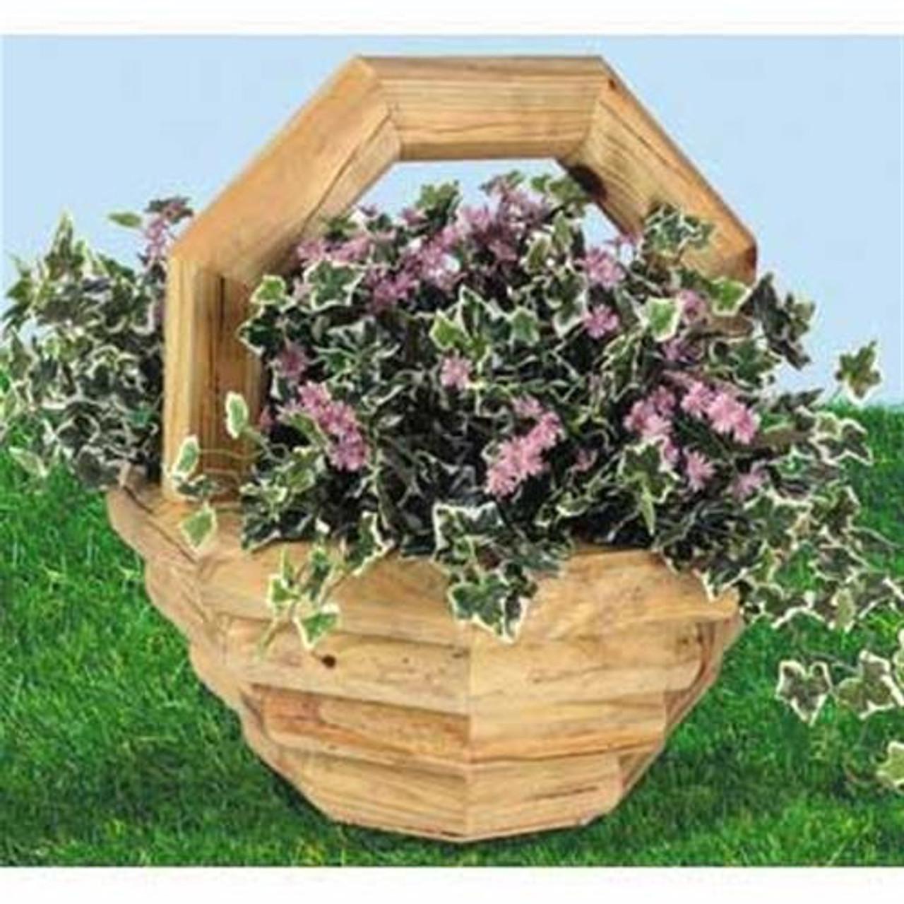 Wildwood Designs Basket Planter Woodworking Plan