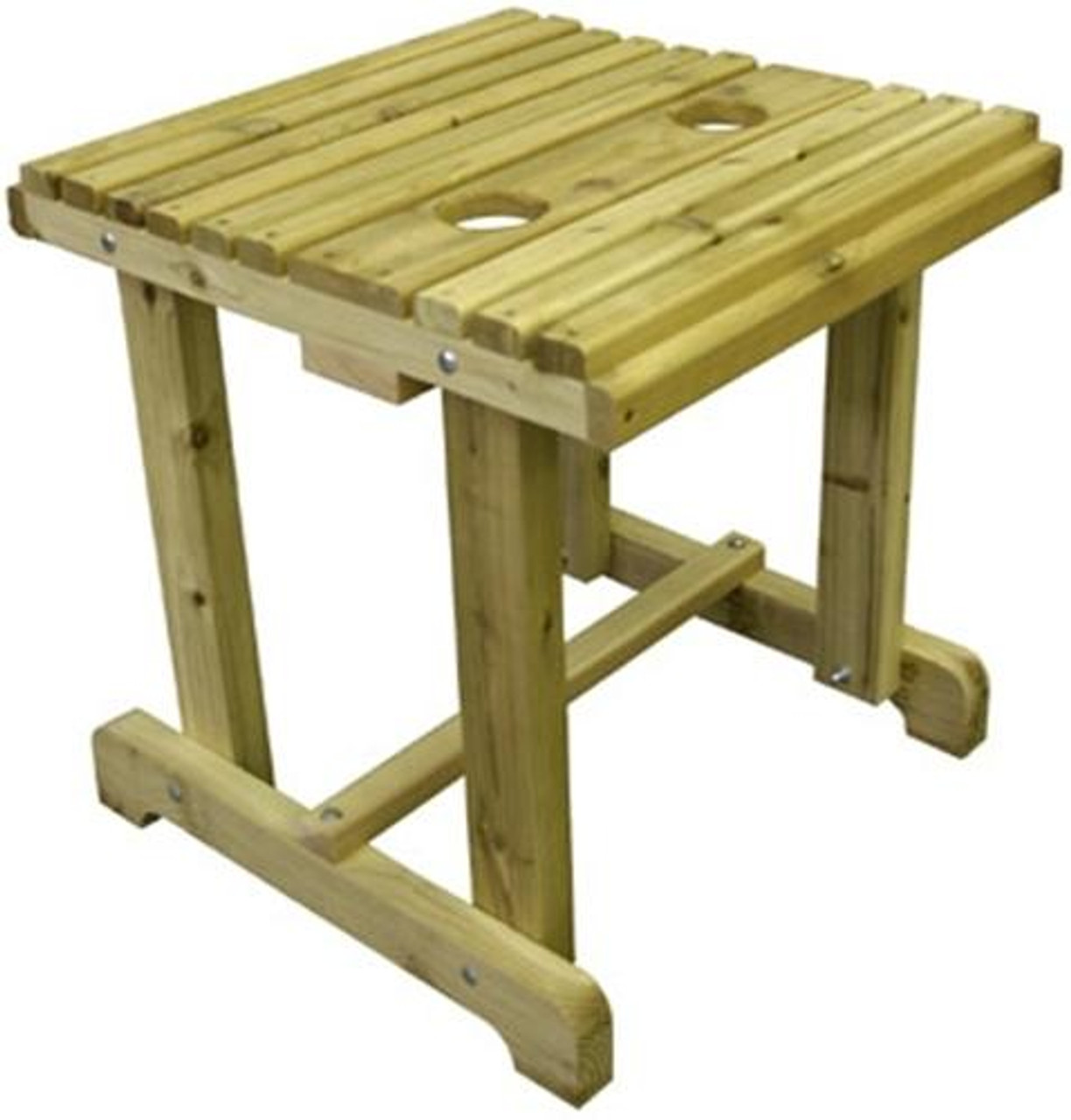 Cherry Tree Toys Outdoor End Table Plan