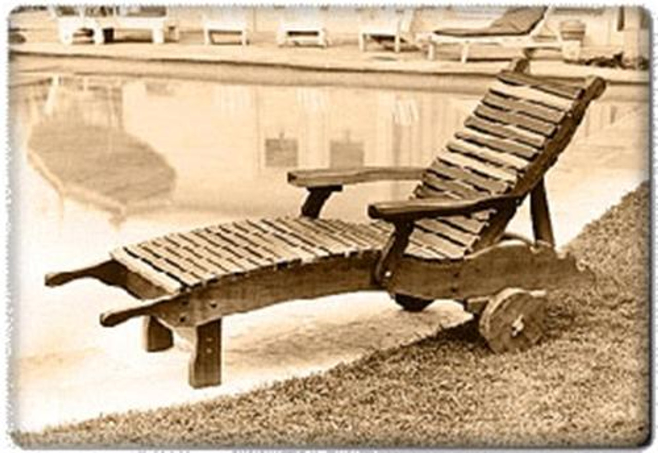 U-Bild Chaise Lounge Plan