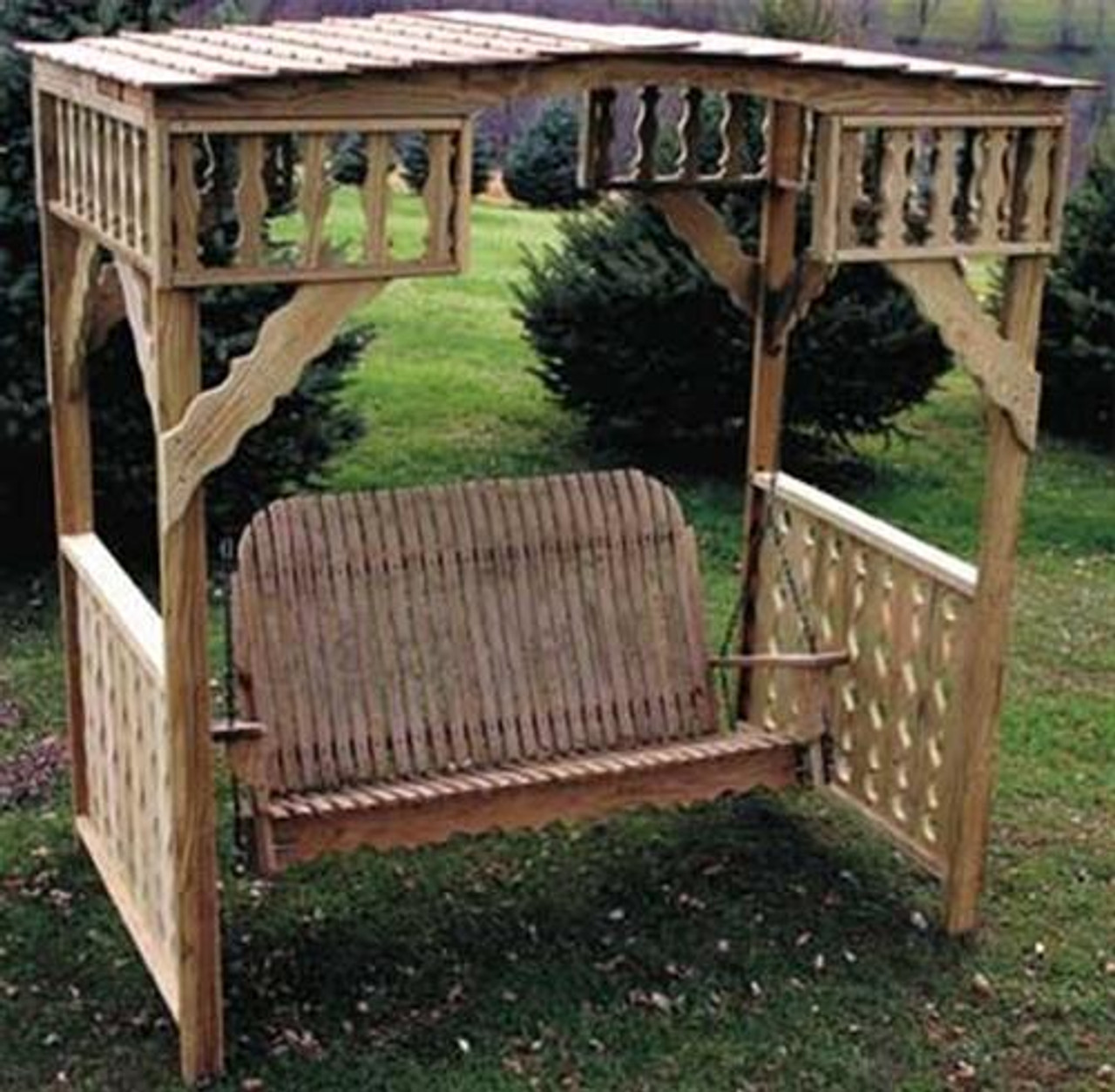 Cherry Tree Toys Adult Swing and Arbor Plans