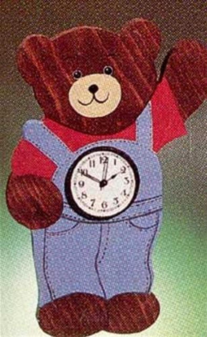 Cherry Tree Toys Bear Clock Plan