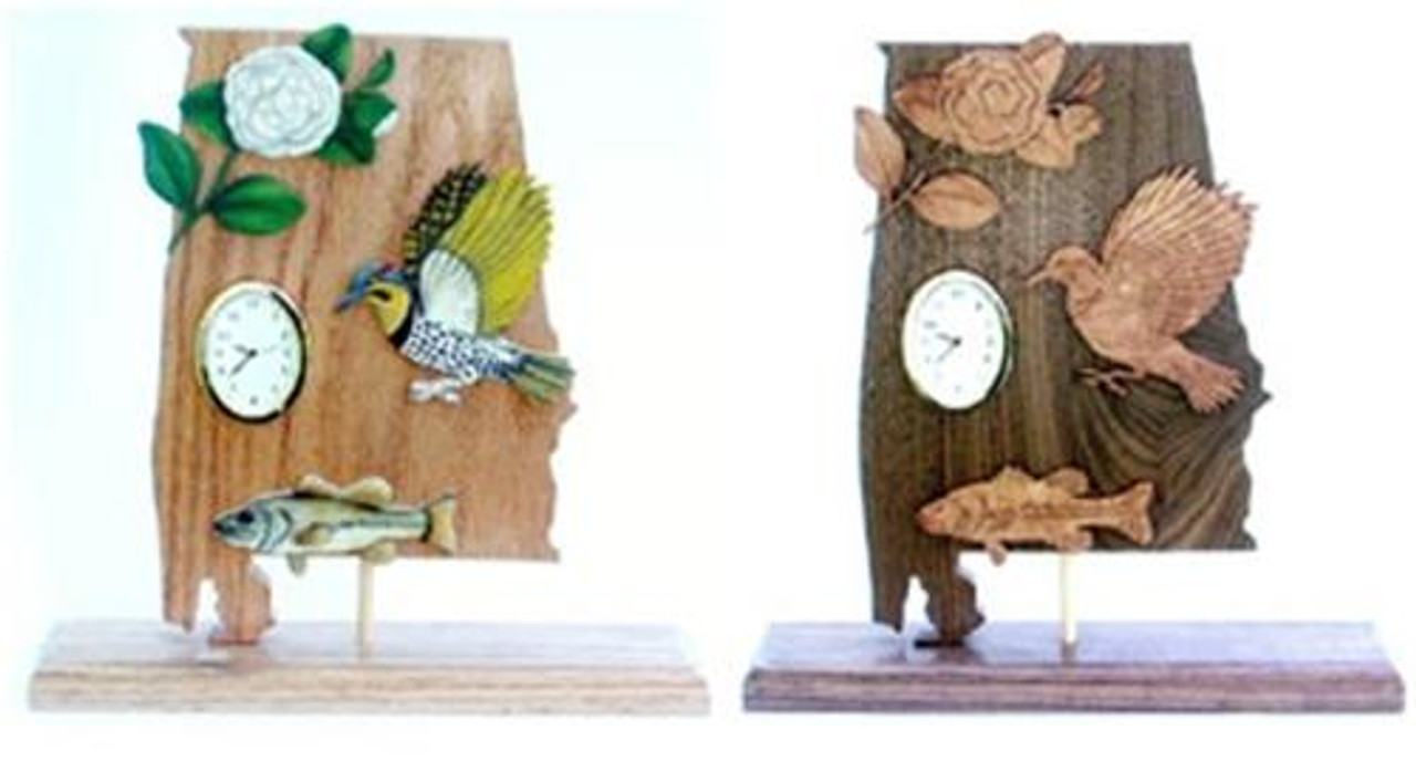Wildwood Designs Alabama State Clock Pattern