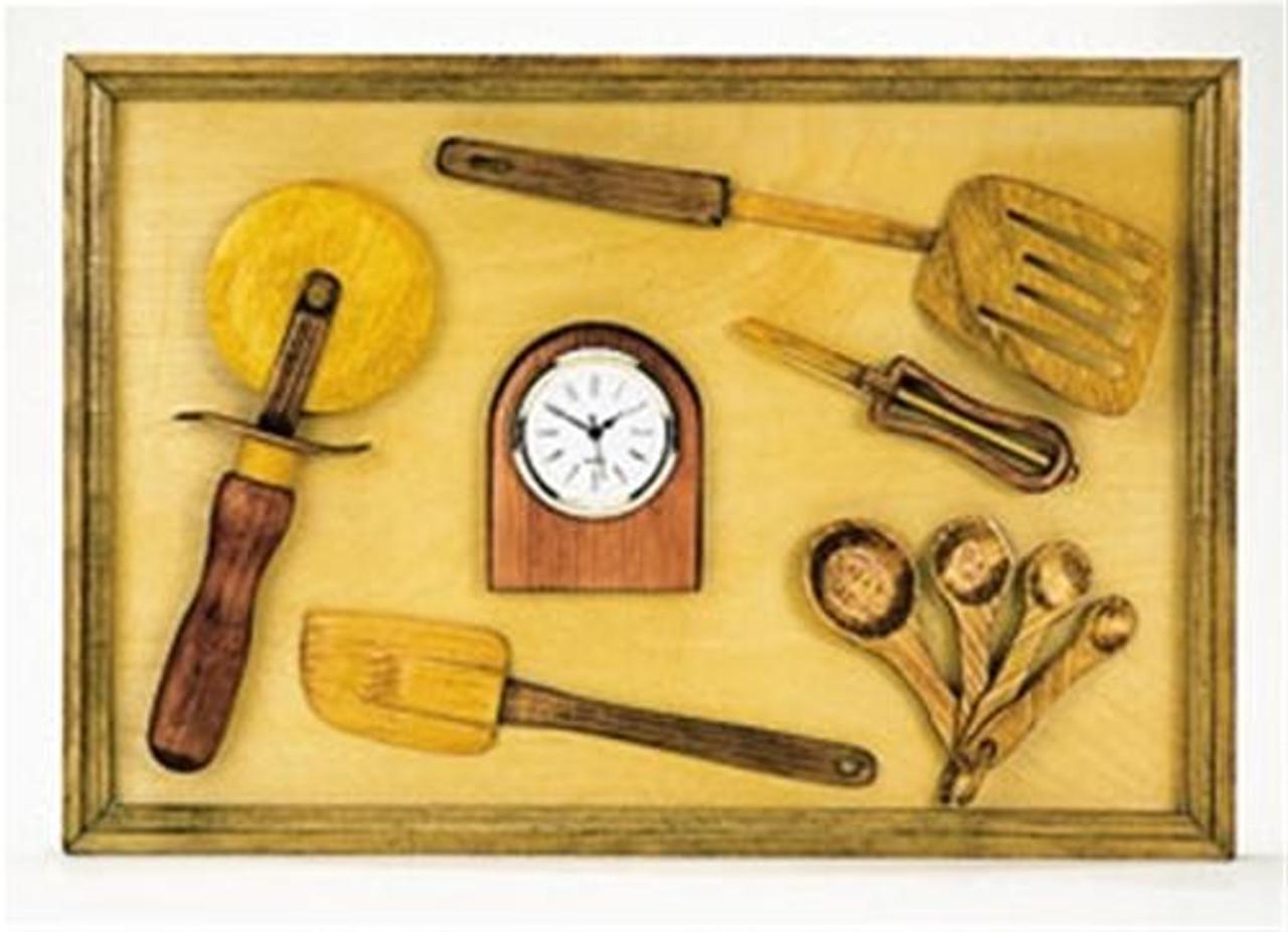 Cherry Tree Toys Kitchen Clock Plan