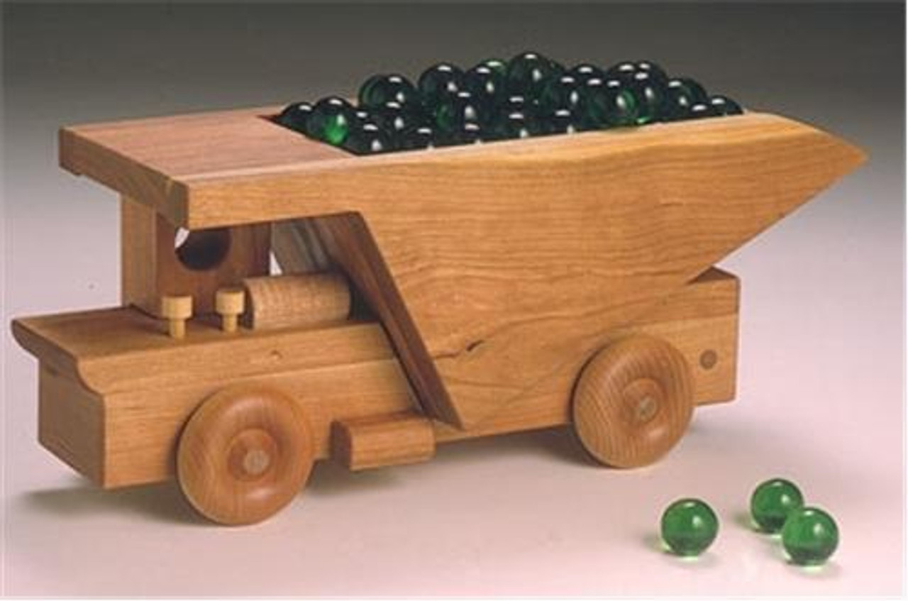 Cherry Tree Toys Earth Dump Truck Plan