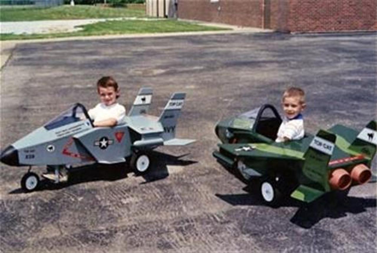 Cherry Tree Toys 89 Pedal Jet Top Cat Plan