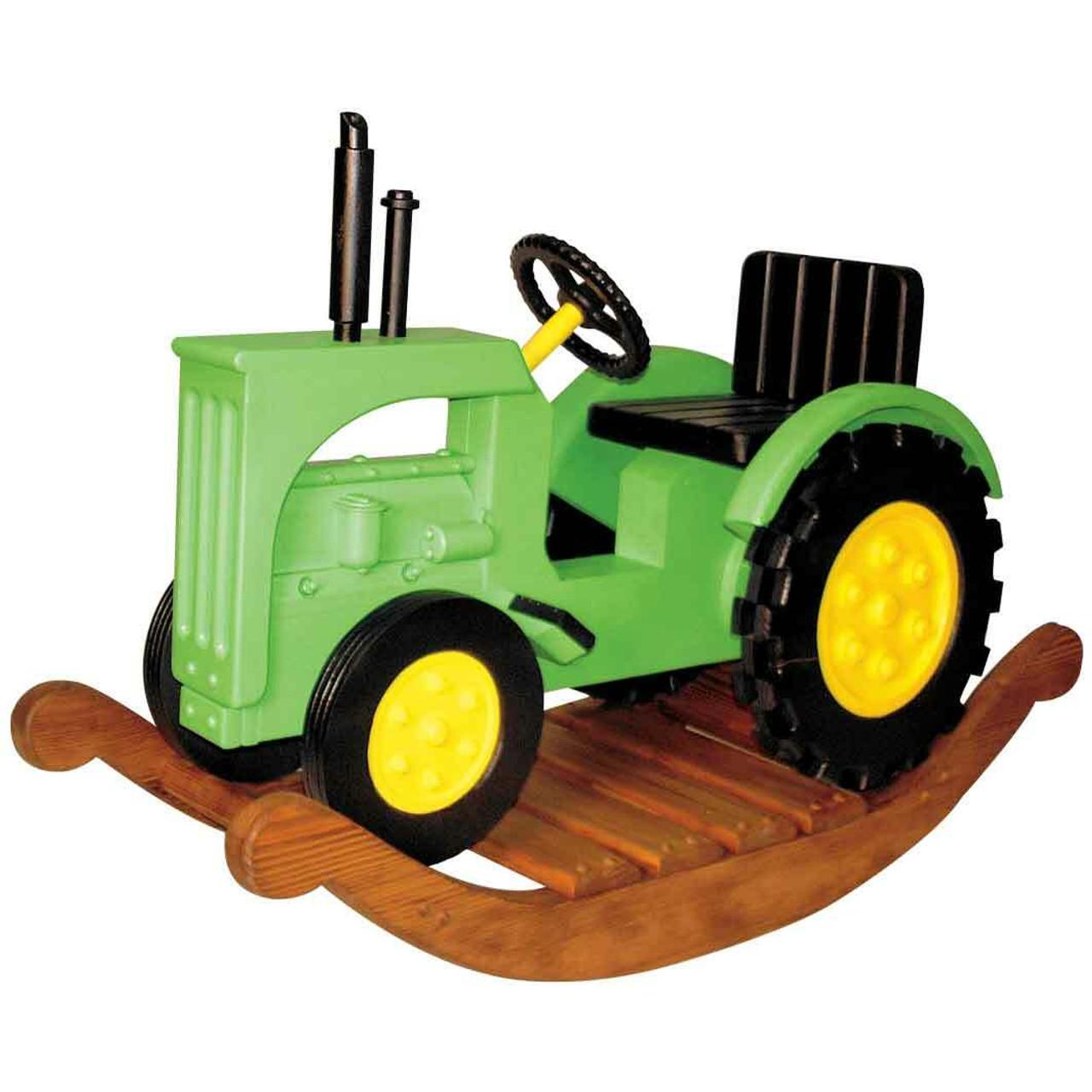 Cherry Tree Toys Rocking Tractor Plan