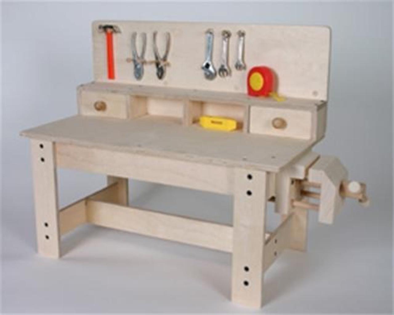 Cherry Tree Toys Workbench Plan