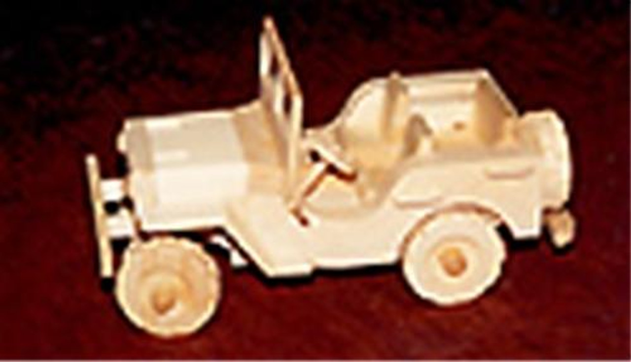 Cherry Tree Toys WWII Willy's Jeep Woodworking Plan