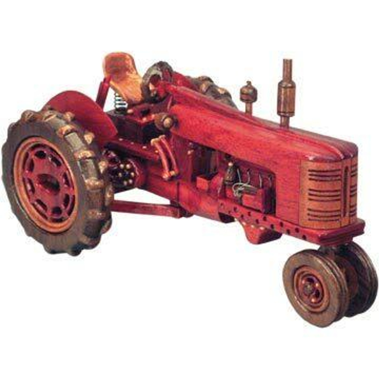 Cherry Tree Toys Old Time Tractor Plan