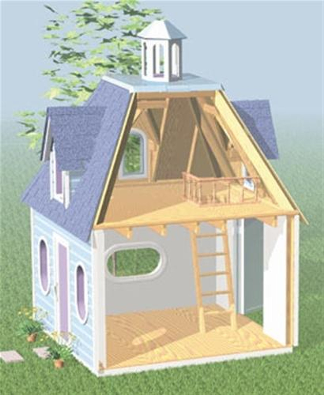 Cherry Tree Toys Lighthouse Playhouse Plan