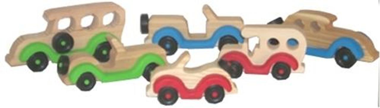 Cherry Tree Toys Set of 6 Vehicles Plan