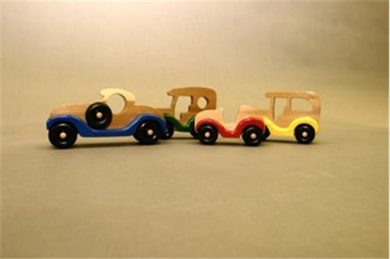 Cherry Tree Toys Cars, Cars, Cars Plan