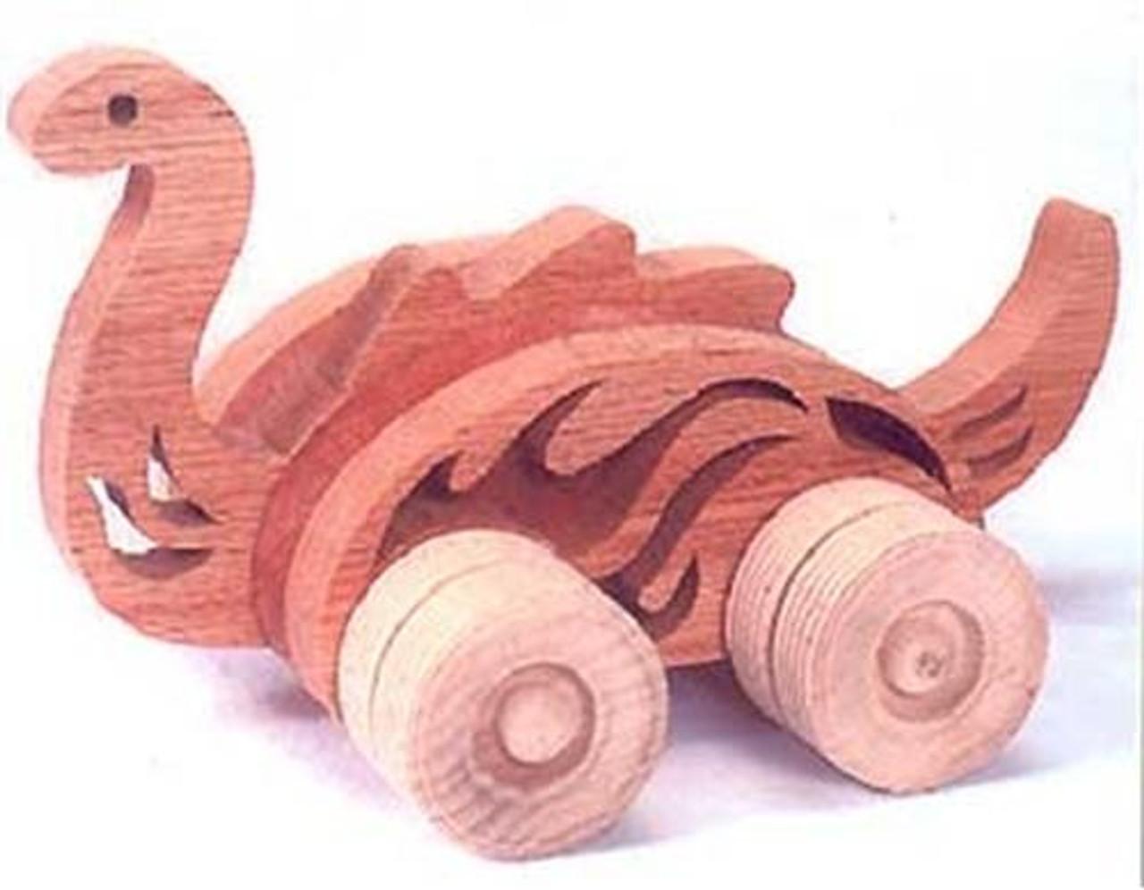 Wildwood Designs Brontosaurus Push Toy Plan