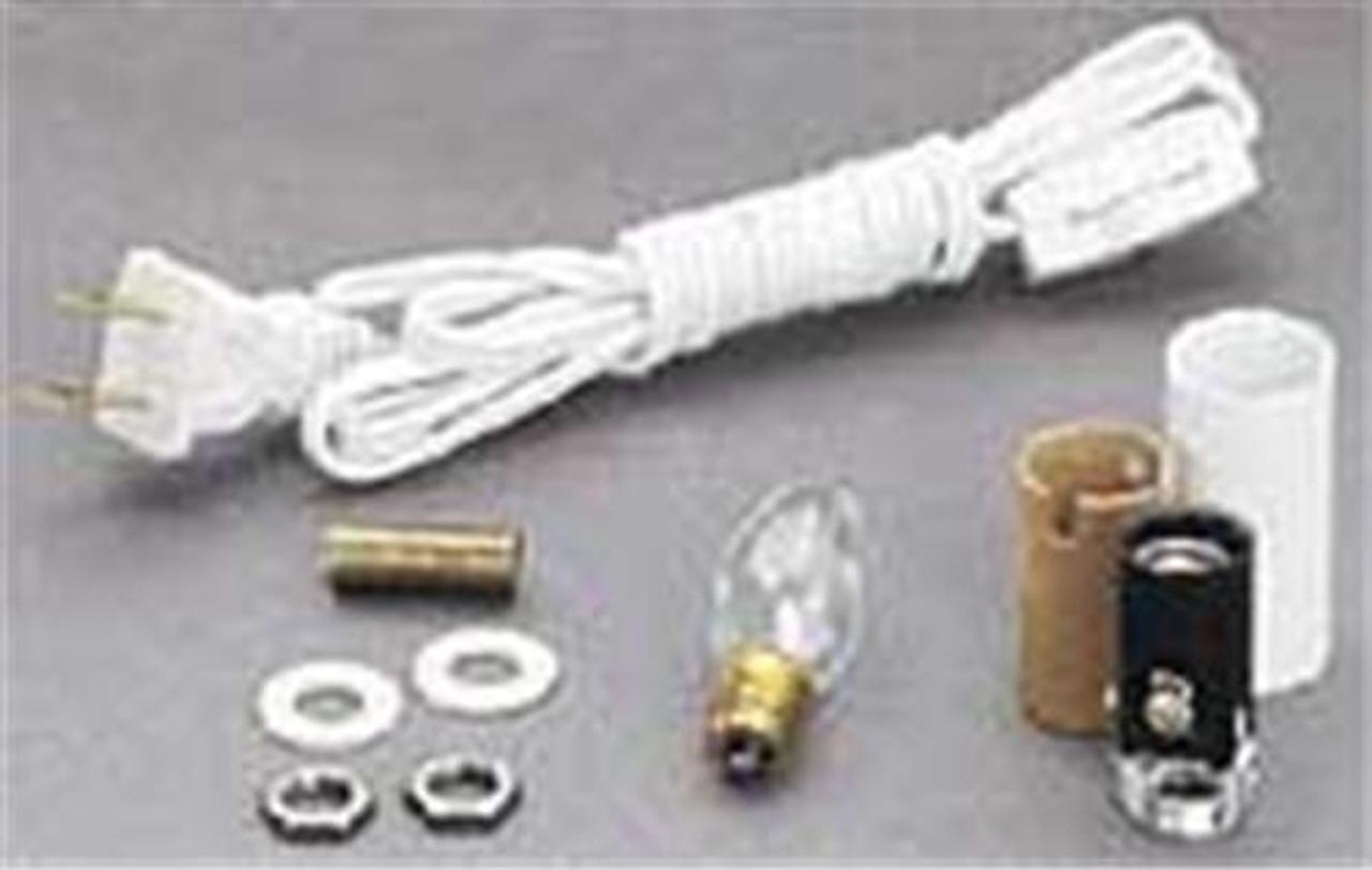 Cherry Tree Toys Candelabra Socket Kit W/ Switch