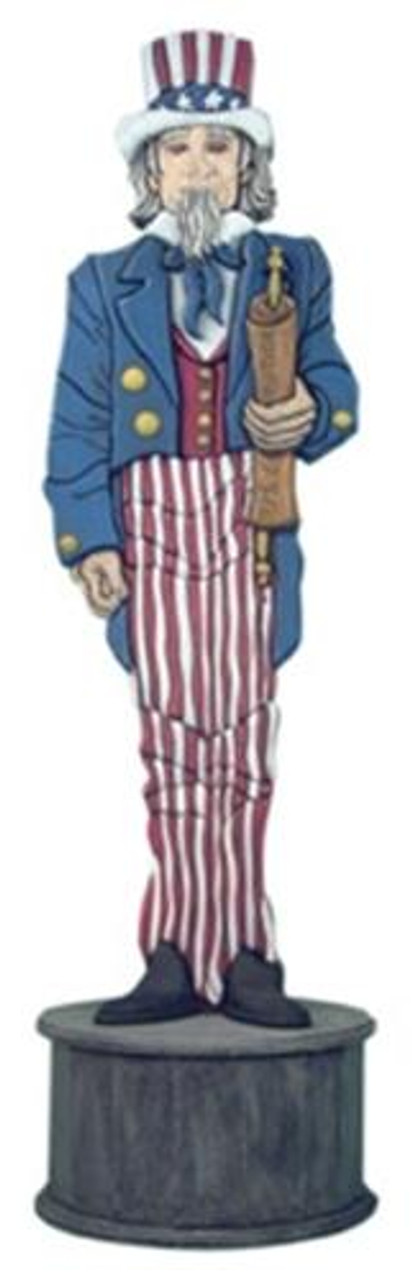 Cherry Tree Toys 4 Foot Uncle Sam Totem Plan