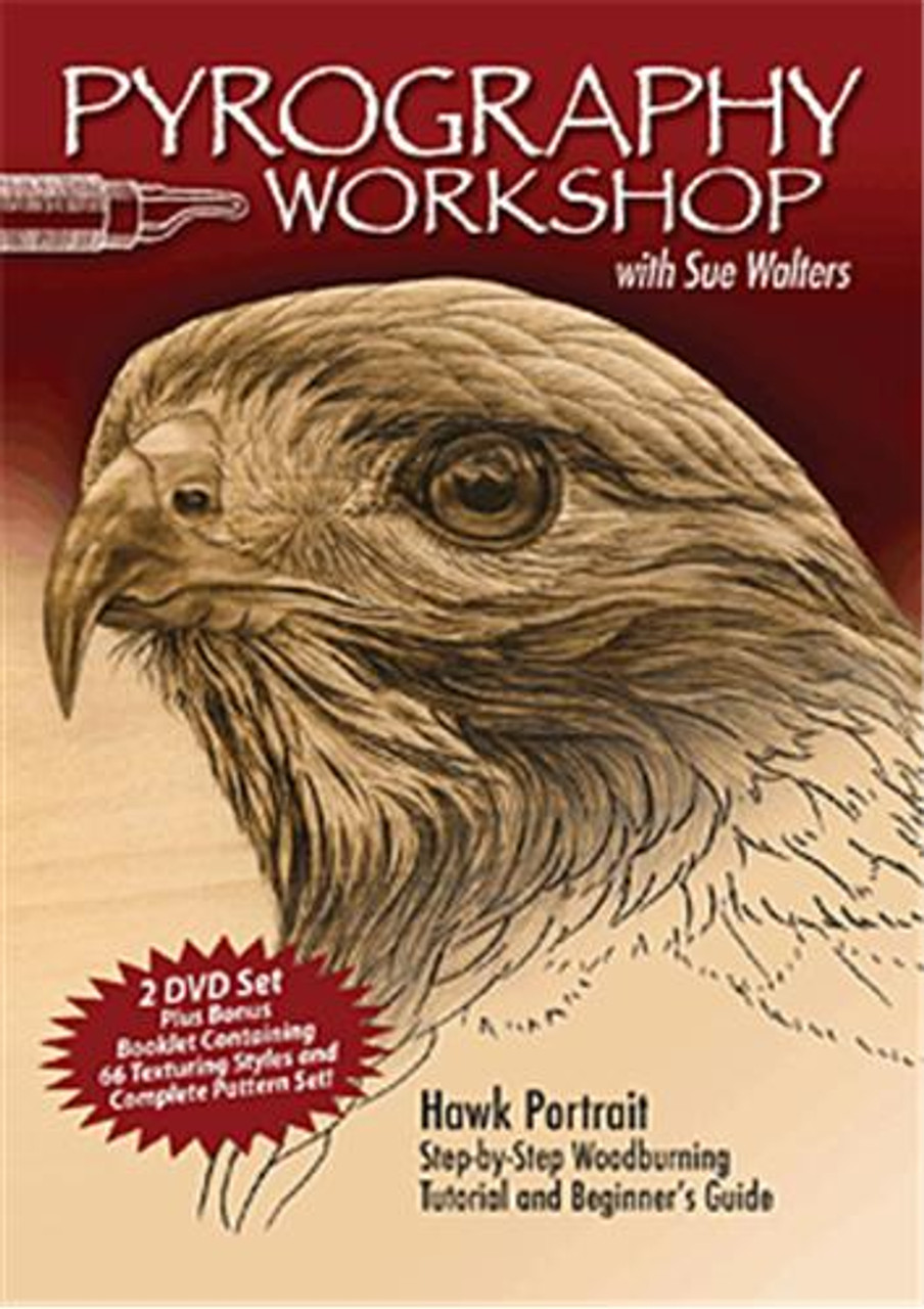 Fox Chapel Publishing Pyrography Workshop DVD