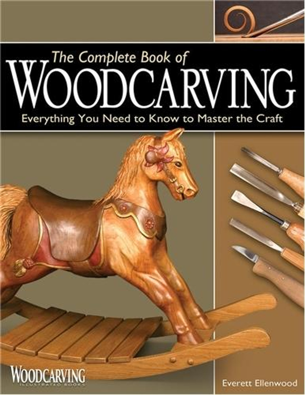 Fox Chapel Publishing Complete Book of Woodcarving