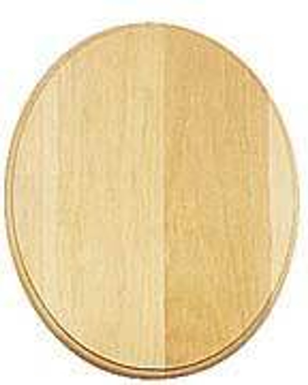 Cherry Tree Toys Oval Basswood 9 Inches X 12 Inches