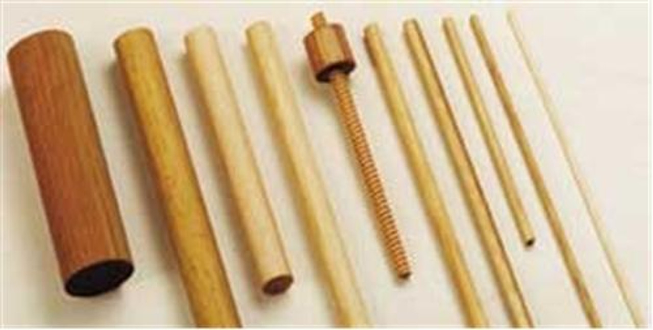 Cherry Tree Toys 5/8 Grooved Dowel
