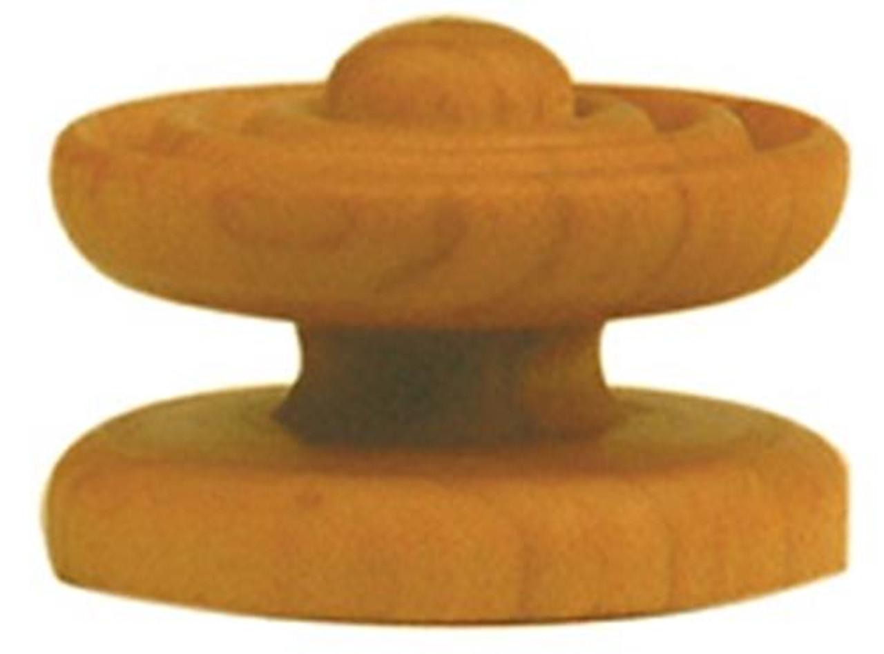 Cherry Tree Toys 1 25/32 Inch Diameter X 1 7/32 Inch High Knob