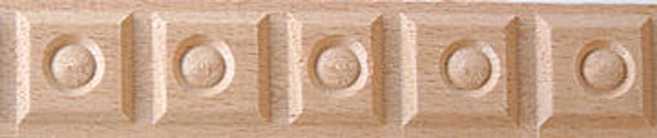 Cherry Tree Toys Block with Inset Molding