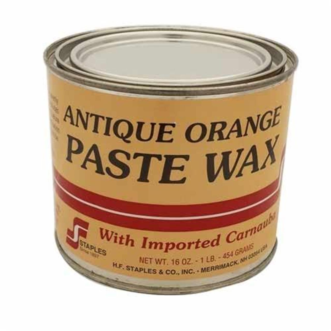 Paste Wax - Antique Orange