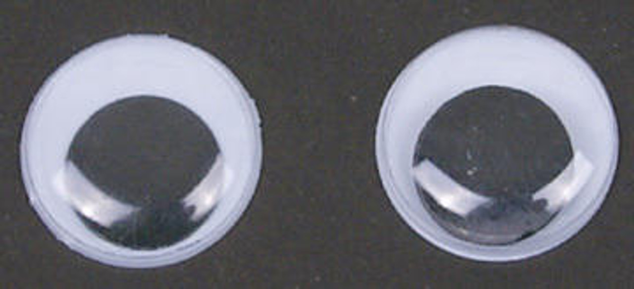 Cherry Tree Toys 1 3/8 - 35mm Jiggle Eyes Pack Of 2
