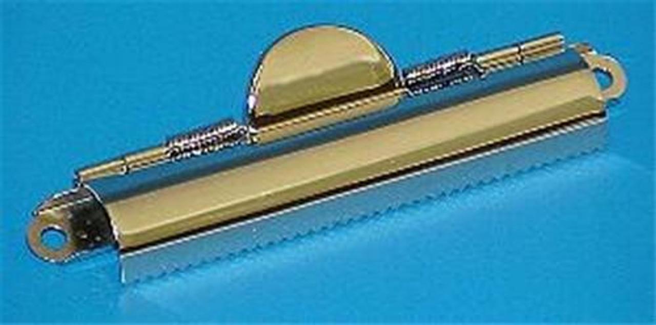 Cherry Tree Toys 4 3/8 Domed Nickel Clipboard Clip