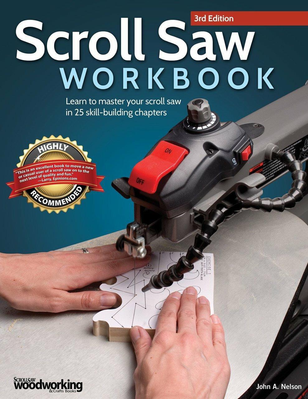Fox Chapel Publishing Scroll Saw Workbook 3rd Edition