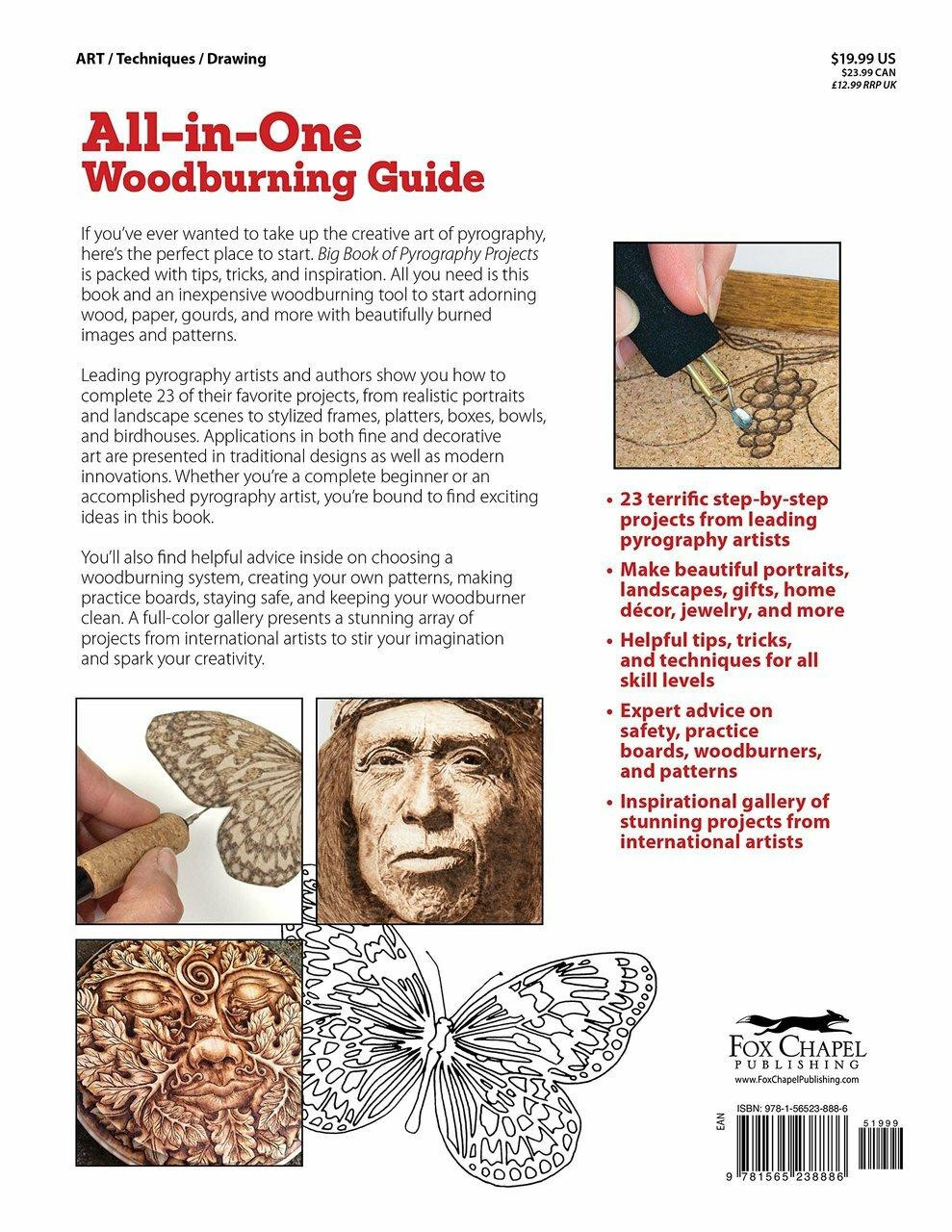 Fox Chapel Publishing Big Book of Pyrography Projects