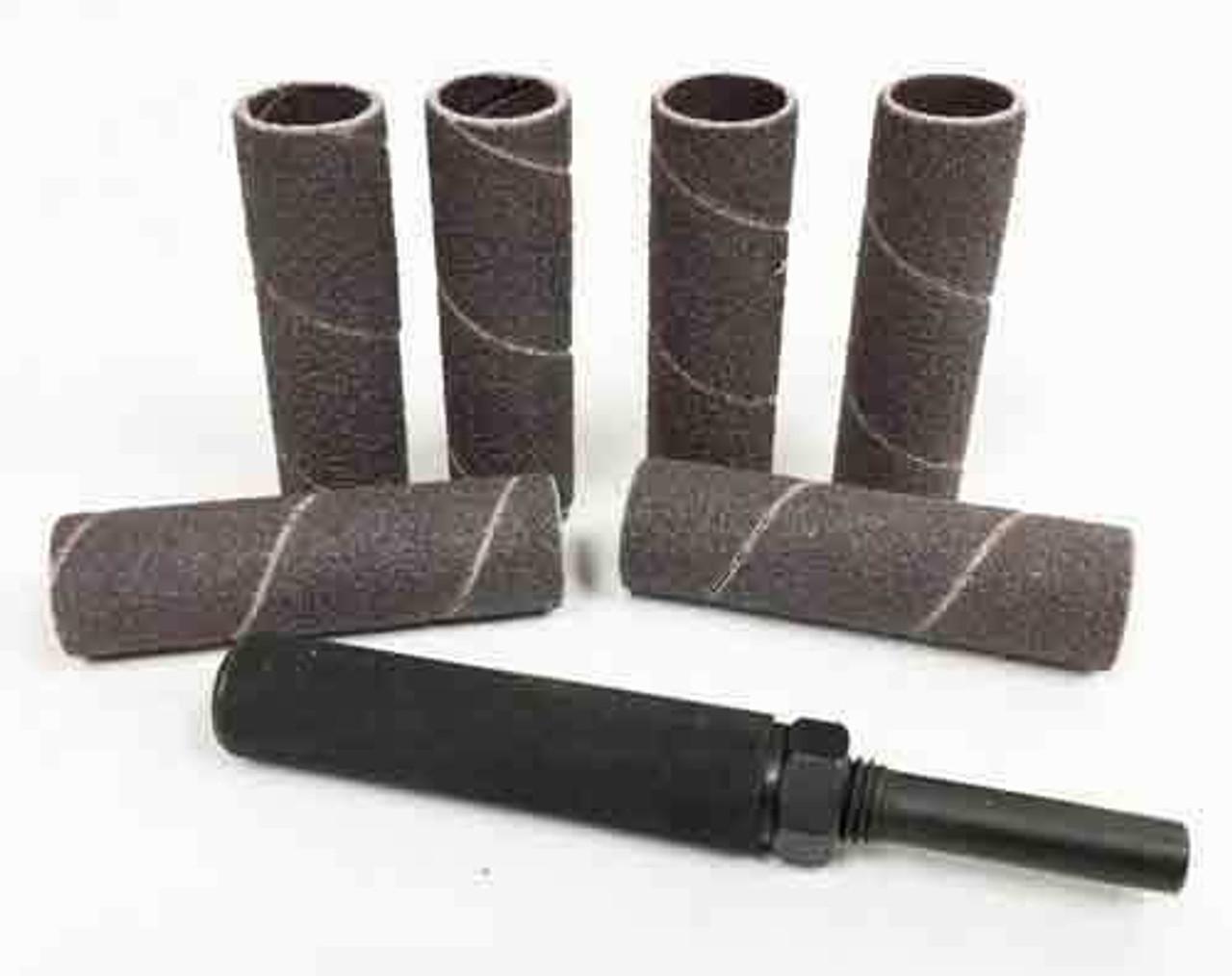 Sanding Drum and Sanding Sleeves 1/2 x 2