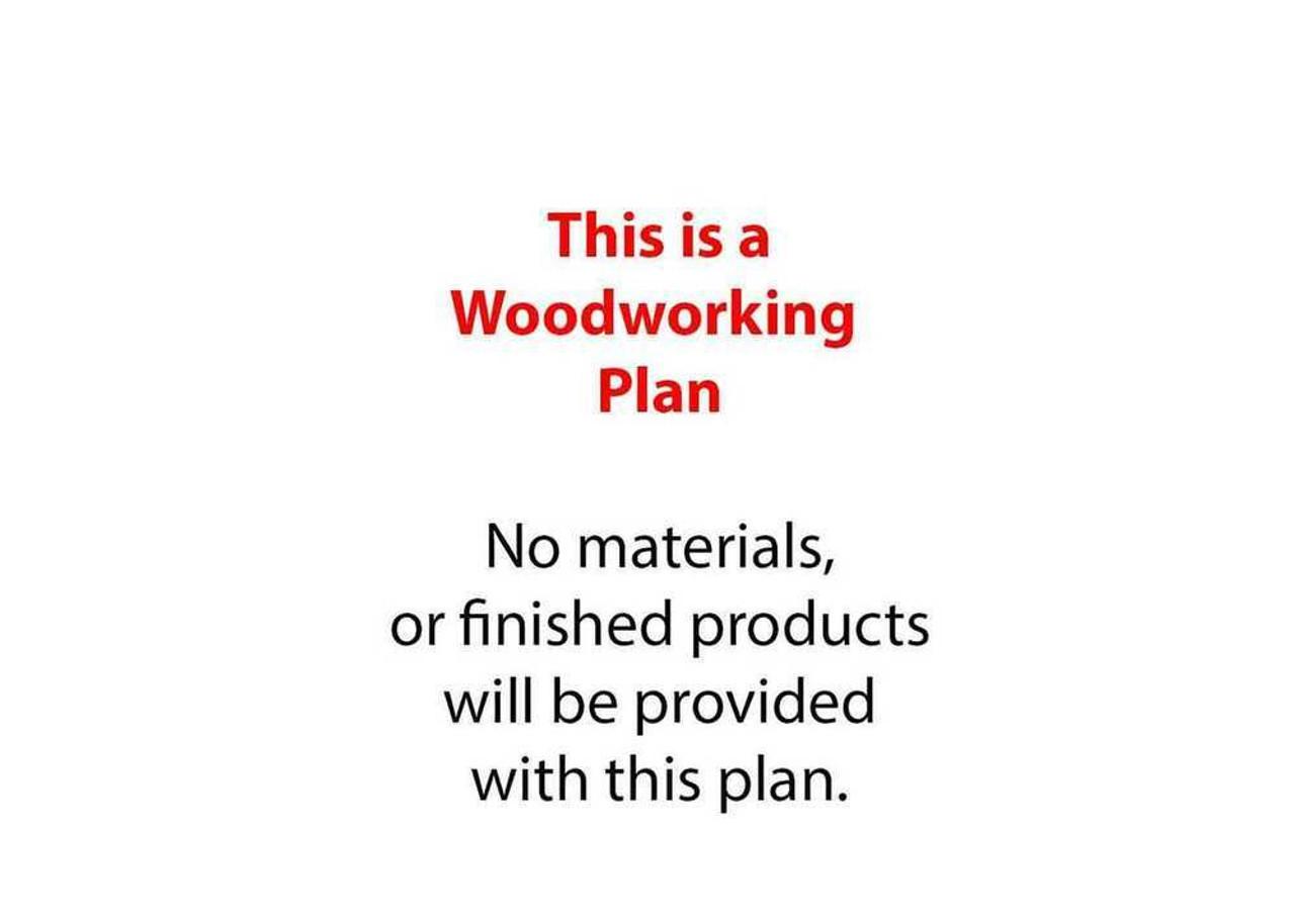 Cornerstone Designs Int Inc JD Tractor 4WD Woodworking Plan