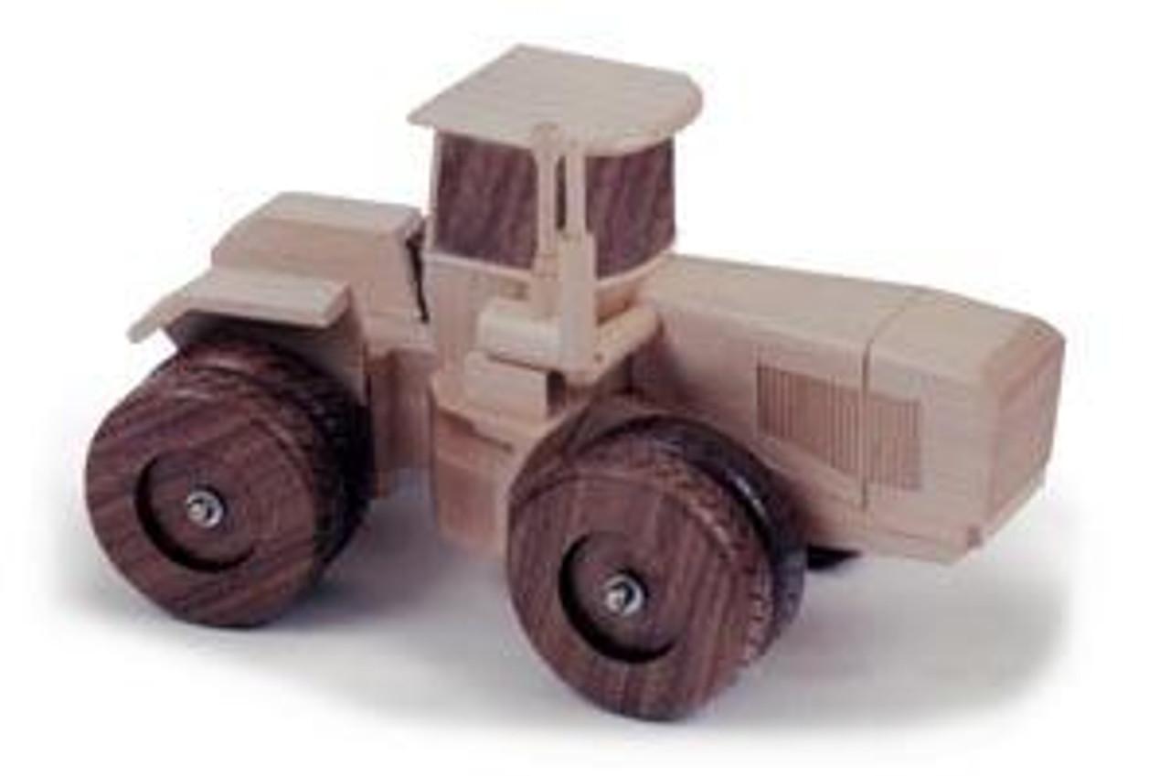 Cornerstone Designs Int Inc JD Tractor 4WD Woodworking Plan.