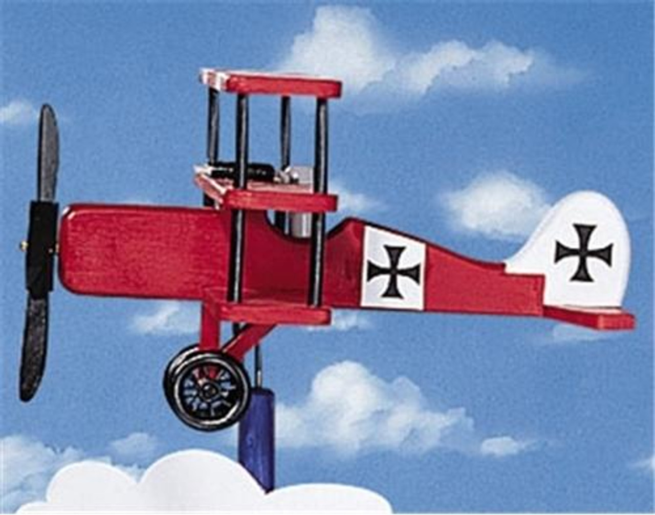 Cherry Tree Toys Tri-Plane Whirligig DIY Kit