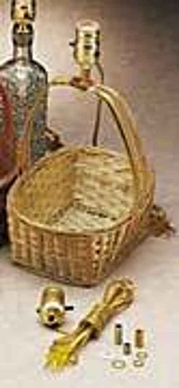 Cherry Tree Toys Basket Thru the Handle Lamp Kit