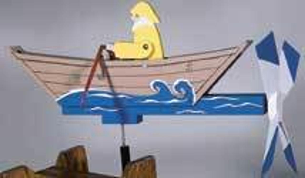 Cherry Tree Toys Rowboat Whirligig DIY Kit