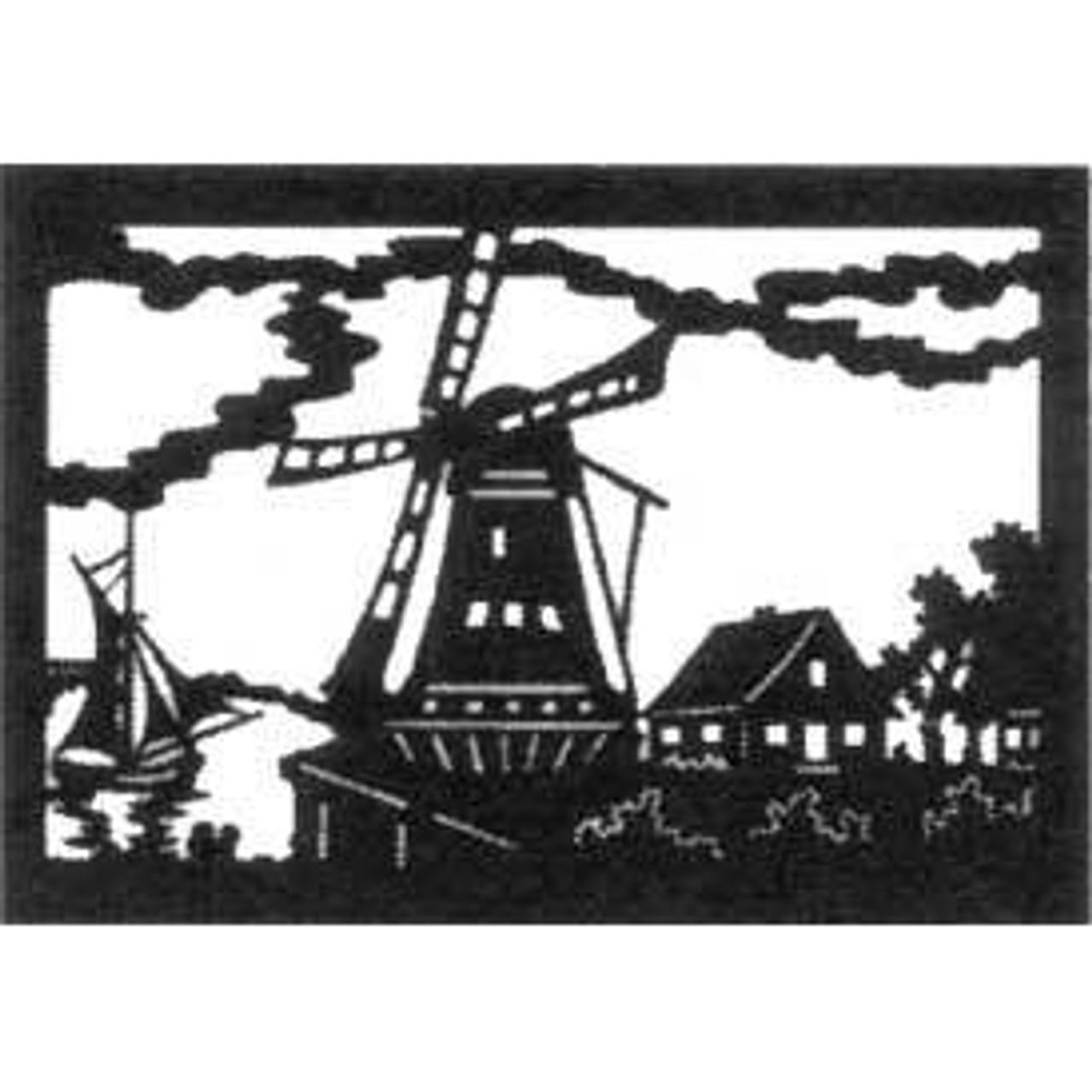 Wildwood Designs Windmill Scroll Saw Pattern