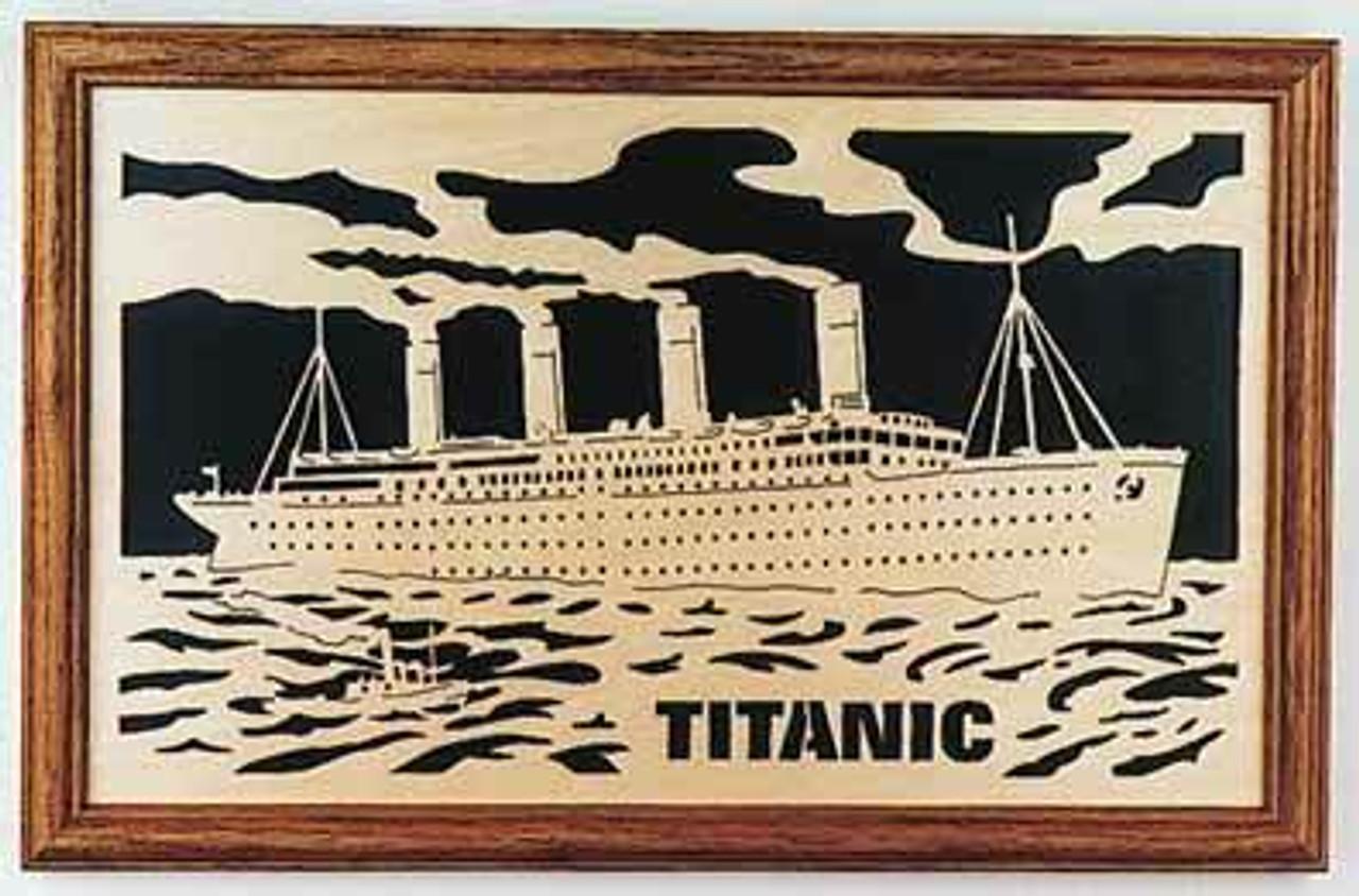 Wildwood Designs Titanic Scroll Saw Pattern