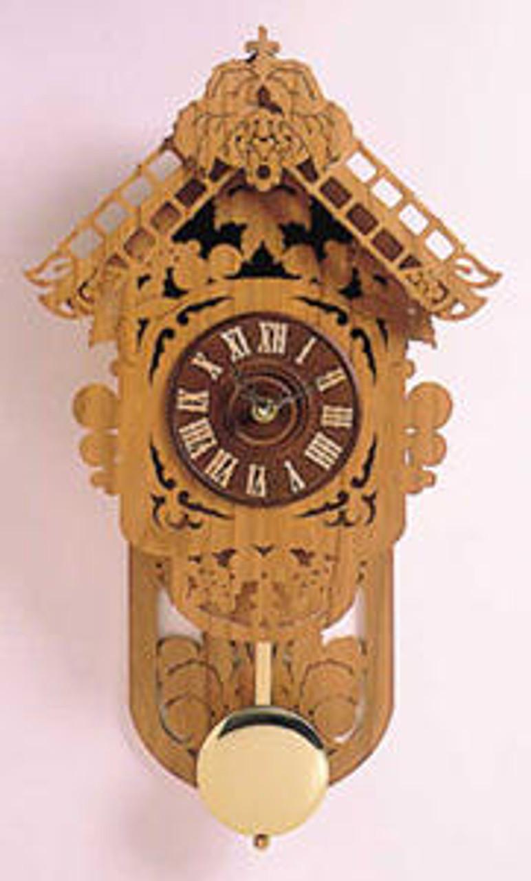 Wildwood Designs Vineyard Clock Scroll Saw Pattern