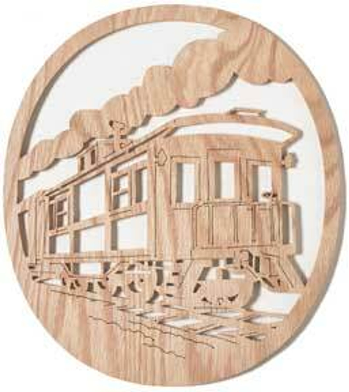 Wildwood Designs Lucky Caboose Scroll Saw Pattern