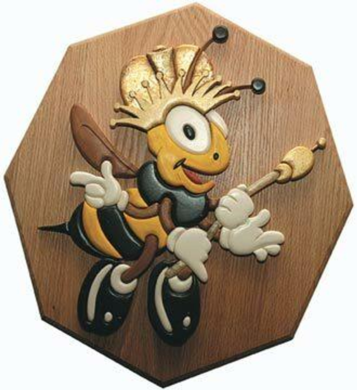 Wildwood Designs Queen Bee Intarsia Plan