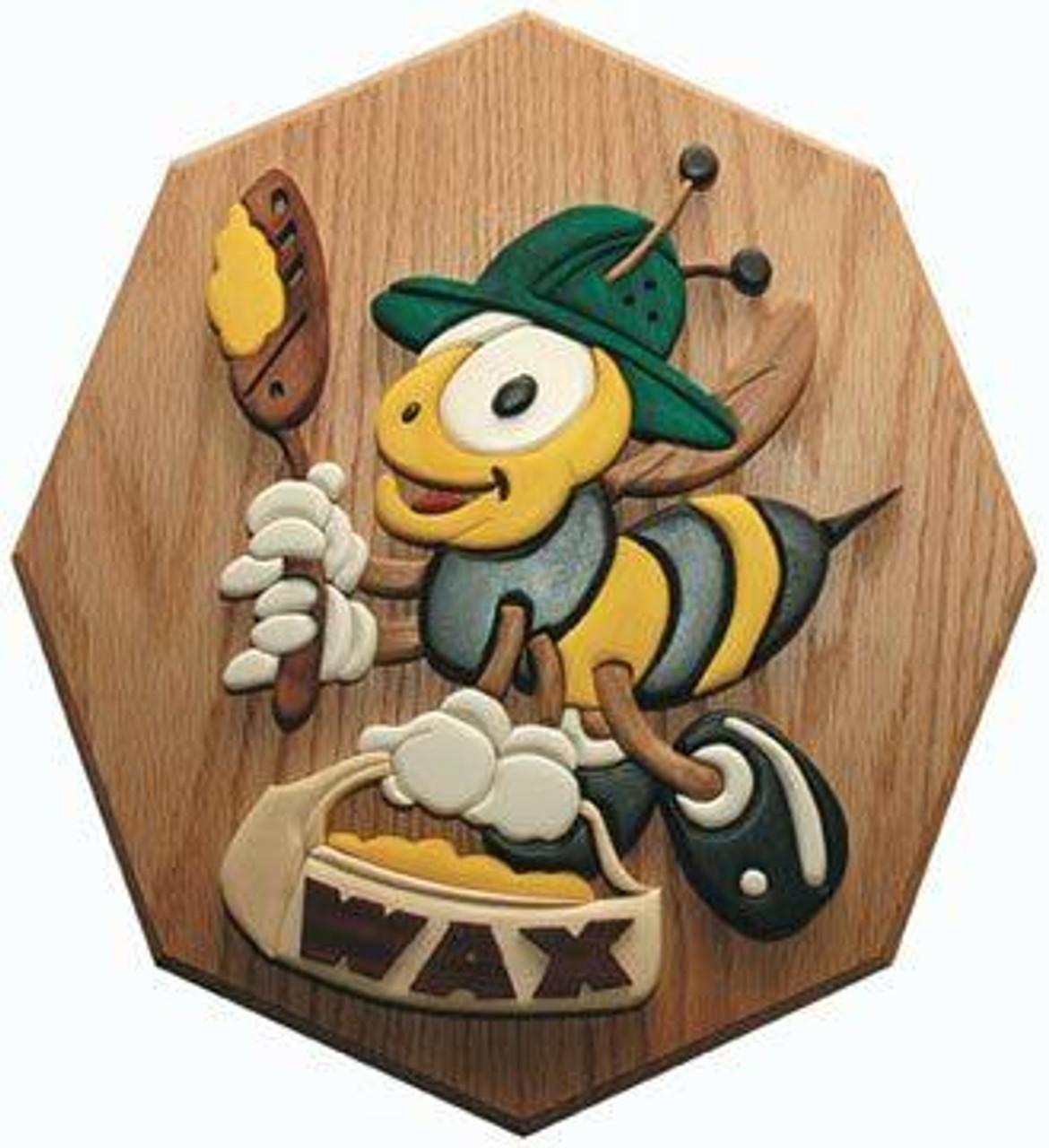 Wildwood Designs Wax Bee Intarsia Plan