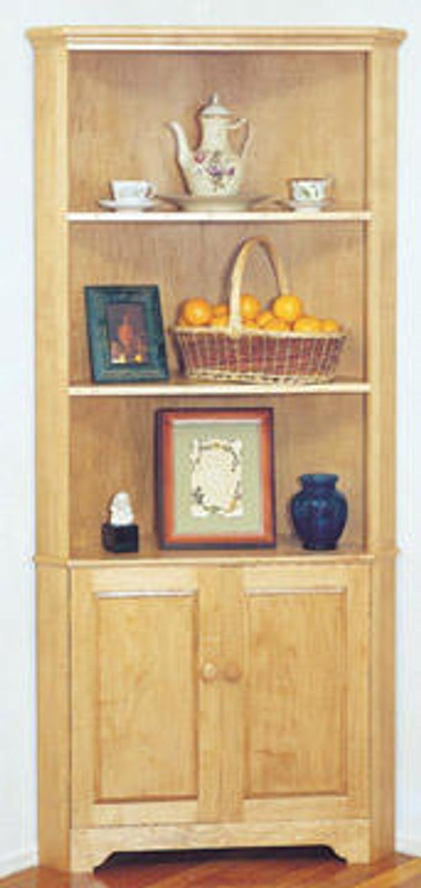 U-Bild Corner Cabinet Wood Working Plan