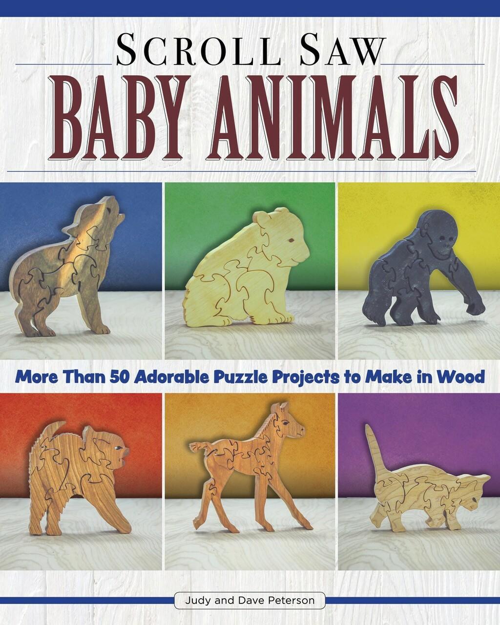 Fox Chapel Publishing Scroll Saw Baby Animals