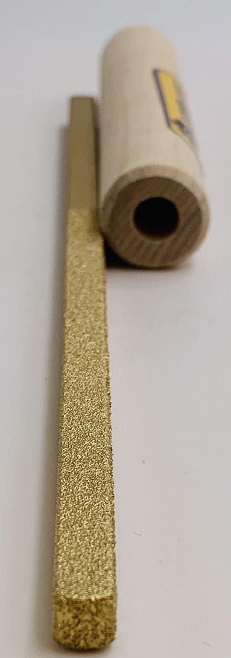 Dura-Grit Carbide 1/4 Square File 60/120 Grit