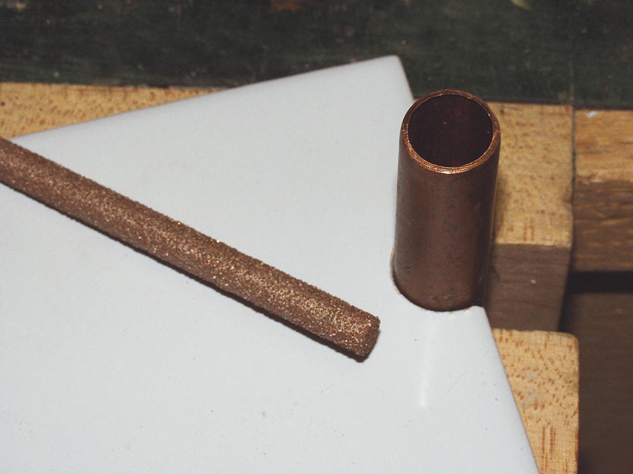 Dura-Grit Carbide 1/4 Round File 120 Grit