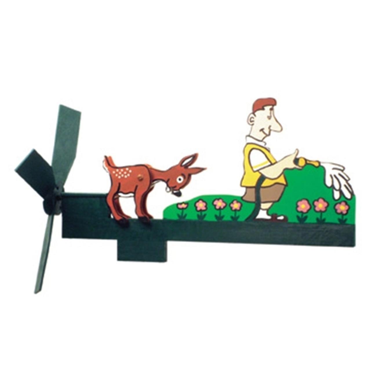 Cherry Tree Toys Deer Snacking Whirligig DIY Kit